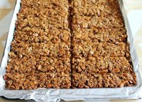Crunchy granola bars recipe homemade
