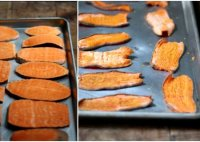 Dried sweet potato treats for dogs recipe