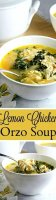 Easy avgolemono soup recipe orzo roasted