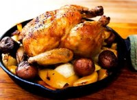 Easy baked whole chicken in oven recipe