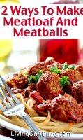Easy meatloaf recipe 1 pound hamburger meatballs