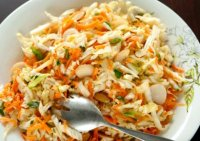 Easy napa cabbage coleslaw recipe