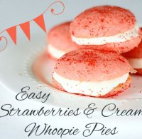 Easy strawberry whoopie pie recipe