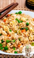 Easy tasty fried rice recipe
