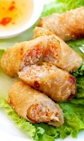 Easy vietnamese fried spring rolls recipe