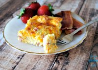 Egg bread breakfast casserole recipe