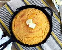Eggless sweet potato cornbread recipe