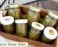 Ezy sauce recipe for relish with green