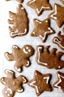 Fast and easy gingerbread cookie recipe