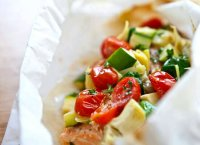 Fish baked in parchment paper recipe