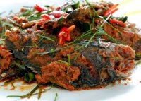 Fish with red curry paste recipe