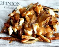 French canadian delicacy poutine recipe