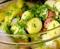 French potato salad with dijon mustard recipe