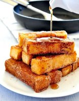 French toast sticks recipe without milk
