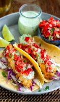 Fried fish taco recipe no beer today