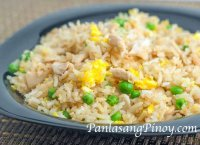Fried rice recipe with egg