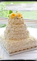 Frosting recipe for wedding cake flowers