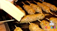 Fry seekh kabab recipe ingredients
