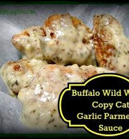 Garlic parmesan boneless chicken wings recipe