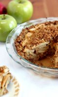 Ginger snaps crumbs recipe for apple
