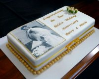 Golden wedding anniversary cake recipe