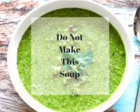 Goop broccoli arugula soup recipe