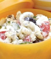 Greek pasta salad kalamata olives recipe