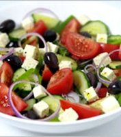 Greek salad recipe no olives on olive tree