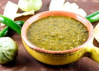 Green enchilada sauce recipe without tomatillos plants