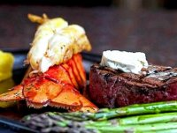 Grill steak and lobster recipe