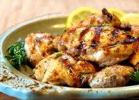 Grilled chicken marinade recipe lemon garlic honey