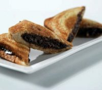 Grilled dark chocolate sandwich recipe