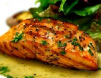 Grilled wild salmon fillet recipe