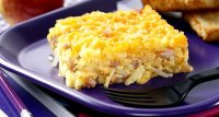 Ham egg cheese potato recipe