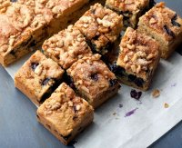 Healthy berry coffee cake recipe