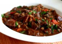 Hearty beef barley stew recipe