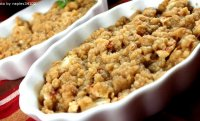 Homemade apple crisp recipe easy