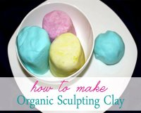 Homemade non toxic clay recipe for kids