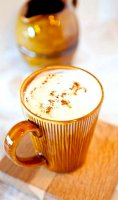 Homemade pumpkin spice cappuccino recipe