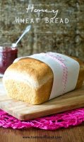 Honey wheat bread recipe one loaf