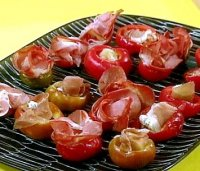 Italian stuffed cherry peppers recipe