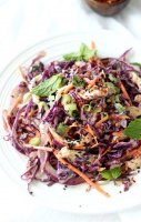 Japanese chicken salad recipe cabbage