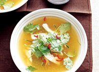 Japanese hot chicken soup recipe