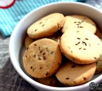 Jeera biscuits recipe eggless pumpkin