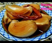 Korean soy sauce pickles recipe