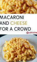 Large batch mac and cheese recipe