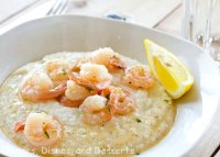 Lemon garlic shrimp grits recipe
