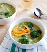 Lighter broccoli cheese soup recipe