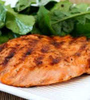 Maple syrup and brown sugar salmon recipe