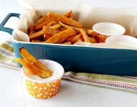Marshmallow dipping sauce for sweet potato fries recipe